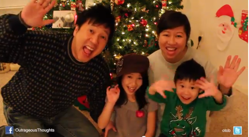 Happy Holidays 2011- From the Knight Family to Yours
